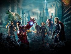 Top 10 Movie Moments of 2012  by Kofi Outlaw-Avengers Assembled - 'The Avengers'