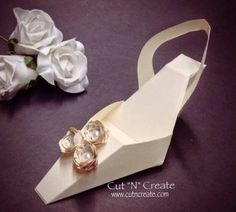 Elegant High Heel Shoe Favour by CutNCreateCanada on Etsy, $29.95