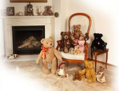 A wonderful rang of teddy bears, I want the all.