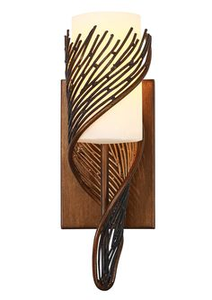 Flow 1 Light Wall Sconce