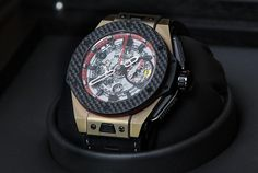 Hublot X Big Bang Ferrari watch