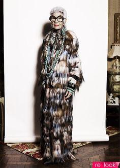 Айрис Апфель: «Мой гардероб растет, талия – нет!»