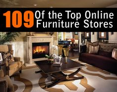 Top 109 Online Furniture Stores by way of @homestratosphere #homestratosphere