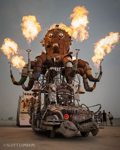 El Pulpo Mecanico by Scott London