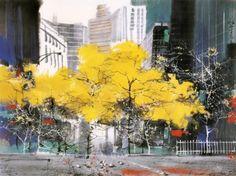 Liu Maoshan paintings