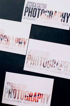 Crafty Business Card Ideas For Photographers