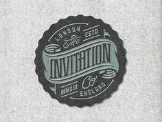 Invitation badge