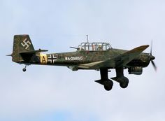 Junkers Ju 87 Stuka Luftwaffe World War Two