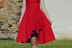 Patrón gratis: vestido de fiesta. Tallas 32-52
