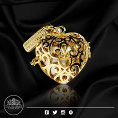 Corazón Imperial Gold - HB  plateada de TALIIISMAN COMPANY® ¡Contáctanos! 01800 2867967 www.facebook.com/Taliiisman info@taliiisman.com