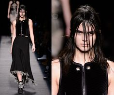 Woah, Kendall Jenner is given a mega makeover at Alexander Wang... http://lookm.ag/F4aQ1W