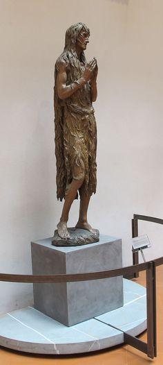 Donatello  (1386–), Mary Magdalene, circa 1450, poplar wood,  Museo dell'Opera del Duomo,  Florence