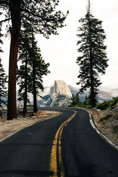Glacier Point Road, Yosemite   Fantasy Road Trip   Road Trip   Road   Road photo…