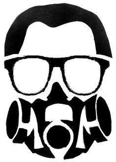 58 best stencils images on pinterest stencil art silhouettes and respirator stencil template maxwellsz