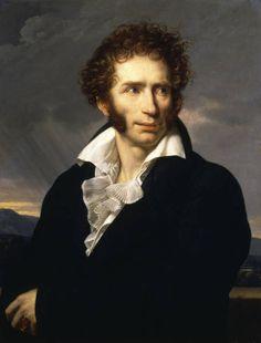 """Ugo Foscolo (1778-1827) partecipò con passione alla vita sociale e politica del suo tempo, tanto che amava essere definito """"uomo d'azione"""" piuttosto che letterato."""