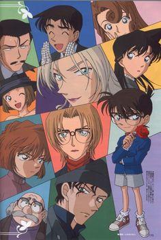 Gosho Aoyama, TMS Entertainment, Detective Conan, Shuichi Akai, Ran Mouri