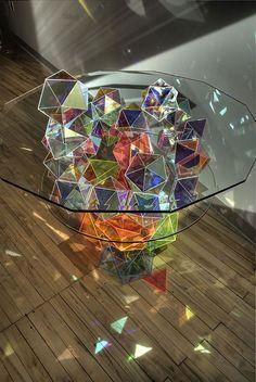 Futuristic Interior Design: 20 polygonal and geometric objects you\'ll love
