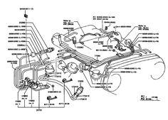1985 4runner vacuum line diagram - Google Search   fix my ...