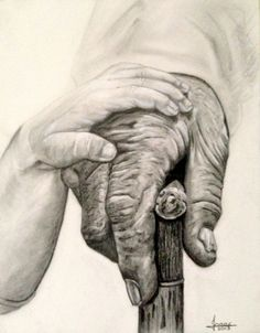 Just stunning!  Helping Hand by newartprints on Etsy, $650.00