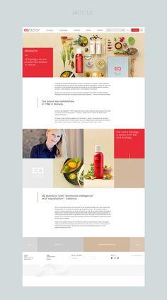 Eqology on Web Design Served