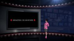 Our 3d Avatars Will Present Products or Services of your Company