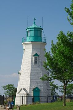 Port Dalhousie Rear Range Lighthouse, Michigan Beach, St. Catharines, Ontario