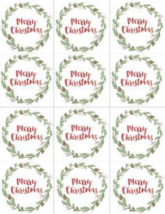 christmas tag template Best Christmas gift tags printable ideas that you will like on . Christmas Tags Printable, Free Printable Gift Tags, Christmas Labels, Free Printables, Christmas Tag Templates, Christmas Gift List, Christmas Gift Wrapping, Christmas Holidays, Xmas