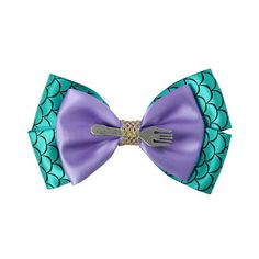 Disney The Little Mermaid Cosplay Hair Bow Hot Topic ($6.37) ❤ liked on Polyvore featuring accessories, hair accessories, bow, disney, hair bows, hair bow accessories, disney hair bows and disney hair accessories