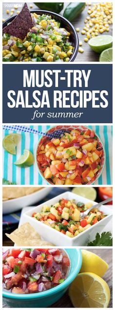 Try these summer salsa recipes!