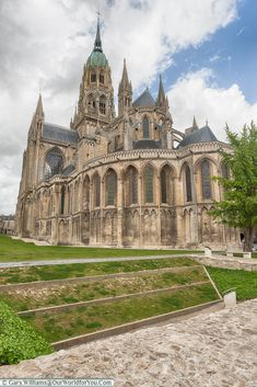 Bayeux Cathedral, Normandy, France
