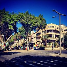 Just another spring morning here in Tel Aviv