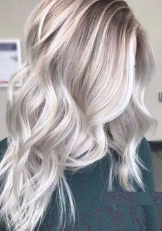 Fall Blonde Hair Color, Ashy Blonde Hair, Ombre Hair Color, Hair Color Balayage, Cool Hair Color, Hair Highlights, Ash Hair, Ash Ombre, Color Highlights