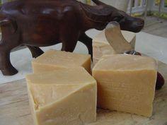 Jabon di Leche de cabra con la harina de avena e miel