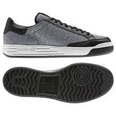 ROD LAVER WINTER SHOES in Black/New Navy by Adidas Originals