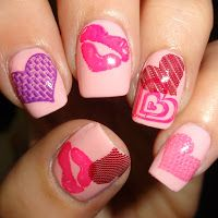 valentines nails moyou 409 plate