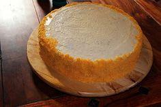 ostbågar_runt_smörgåstårta Parfait, Camembert Cheese, Dairy, Desserts, Food, Tailgate Desserts, Deserts, Essen, Postres