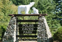 Polar Caves Park (Rumney, NH): A Family Adventure Since 1922. Self-guided cave tours, Nature Trails, Waterfowl and Animal Exhibits, Maple Sugar Museum, the Glacial Boulder Maze, Klondike Mines, and the Polar Mining Expedition Sluice.