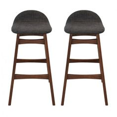 MONOQI | Set of 2 Ludvig Bar Stools