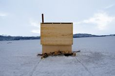 marco casagrande: nomad city aurora observatory - designboom | architecture