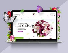 "Check out this @Behance project: ""Orchid Florist"" https://www.behance.net/gallery/37851041/Orchid-Florist"