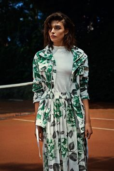 See the campaign images from the Ganni Spring-Summer 2015 collection. Spring Summer 2015, Spring Summer Fashion, Boudoir, Catwalk, Campaign, Shirt Dress, Skirts, Jackets, Inspiration