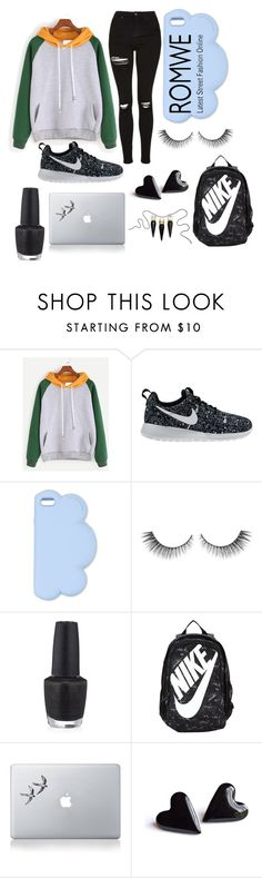"""Untitled #111"" by emmalmathew ❤ liked on Polyvore featuring NIKE, STELLA McCARTNEY, OPI, Vinyl Revolution and Christian Louboutin"