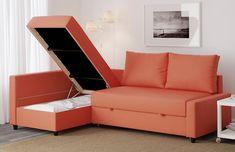 FRIHETEN Convertible 3 places Skiftebo gris foncé IKEA