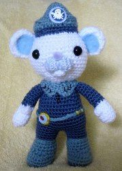 I thought this guy was super cute. I think he's from the Octanauts. 1500 Free Amigurumi Patterns: Children TV