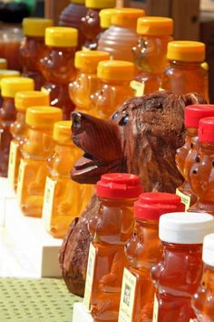 Fresh honey from our