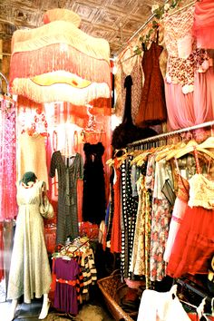Would love our dress closet to be like this?  41 PERRY  by Geminola  closet boudoir