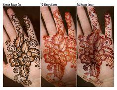 Beautiful Henna Tattoo