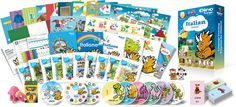 Italian Learning Sets for kids