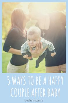 Almost without exception, couples experience relationship issues when they become parents. Here are 5 ways to help keep your relationship strong after baby ... #parenting #baby #newbaby #relationships #newparents