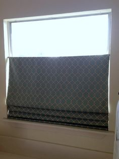No Sew Top Down Bottom Up Shade After 3 Tension Rods Http Nestersnest